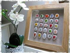 DIY: Cuadro con piedras