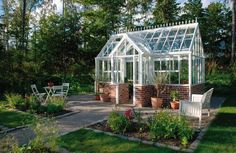 Greenhouse...I'm pretty sure the hubs would die for this!