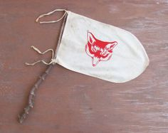 early Boy Scouts fox patrol flag by MouseTrapVintage on Etsy, $86.00