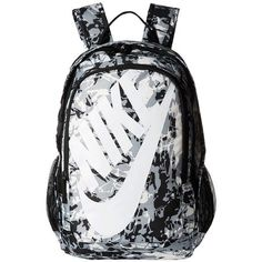 Nike has your back with the Hayward Futura Spacious main compartment with dual-zip closure. Allover print with Nike's specific style. Backpack For Teens, Backpack Bags, Fashion Backpack, Messenger Bags, Black And White Backpacks, Black And White Bags, Nike Air Force, Nike Air Max, Cute Backpacks