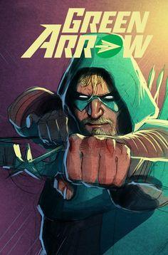 Green Arrow by Juan Ferreyra