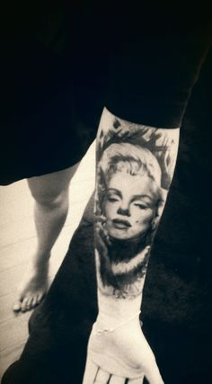 Marilyn Monroe Tattoo by @Kamil Brzeziński