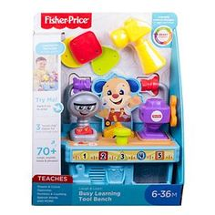 Fisher Price, Teaching Shapes, Teaching Colors, Hands On Activities, Infant Activities, Learning Tools, Fun Learning, Baby Activity Toys, Tool Bench