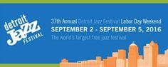 Countdown begins for the biggest free jazz music festival! Detroit International Jazz Festival starts to churn out spectacular music on the Labor Day Weekend (2nd to 5th) in September. Marvellous American trumpeter and eminent Gard Member Sean Jones often graces this event with his incredible performance.