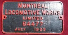 Canadian National Railway (CNR) Steam Locomotive Roster - Locomotive Builders Nº 64477, from CNR S-2-a 3527