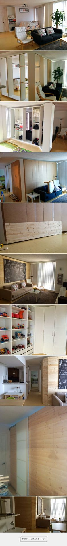 Making a Pax Room in the Living Room - IKEA Hackers - IKEA Hackers - created via http://pinthemall.net