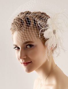 One Tier Wedding/Special Occasion Blusher Veil(More Colors) – USD $ 14.99