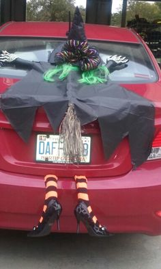 i know mickey isnt biblical but i love this haha trunk or treat decorating ideas pinterest halloween mice and trunk or treat - Halloween Car Decoration Ideas