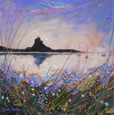 Deborah Phillips, Scottish Artist Painting, Diy Painting, Painting Trees, Abstract Landscape, Landscape Paintings, Abstract Art, English Artists, Altered Art, Cool Art