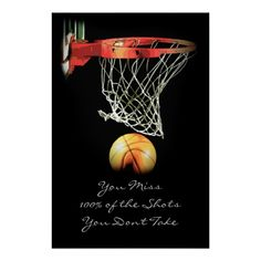 Shop Sport Motivational Quote Basketball Poster created by made_in_atlantis. Basketball Posters, Sports Basketball, Sports Posters, John Maxwell, Kids Sports Party, Leadership, Cheer Quotes, Cheer Sayings, Coaching