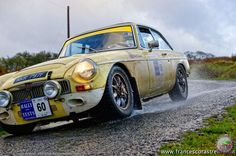 Rally MG in action