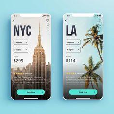 Travel App design by can find App design and more on our website.Travel App design by Mobile App Design, Web Mobile, Mobile App Ui, App Design Inspiration, App Ui Design, Pop Design, Flat Design, Sketch Design, Site Design