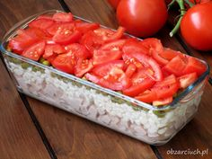Sałatka minutka Appetizer Salads, Appetizers, Coleslaw, Kraut, Salad Recipes, Grilling, Lunch Box, Food And Drink, Cooking Recipes