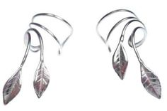 Sterling Silver Pierceless Left Right Ear Cuff Wrap
