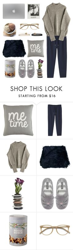 """Movie Time"" by dinamour ❤ liked on Polyvore featuring Surya, MANGO, M&Co, Harry & David, Ace and Madewell"