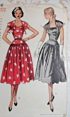 1950s Simplicity MISSES DRESS Pattern.jpg