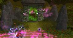 Medivh opening the Dark Portal