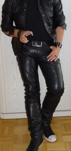Men in hot boots or cool leather and some piercing