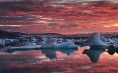 The Staggering Beauty of Iceland's Glacier Lagoon