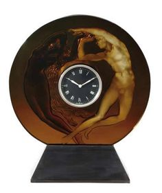 Lalique Day and Night Clock