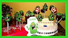 Project for my mother-in-law for when I have my big Ghostbusters themed party. Ghostbusters Cake, Ghostbusters Birthday Party, Twin Birthday, Birthday Cake, Birthday Parties, Birthday Ideas, Cakepops, Cute Crafts, Themed Cakes