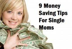 9 Money Saving Tips For Single Moms