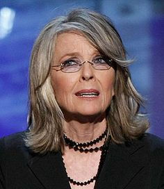 Diane Keaton - film actress, director, producer, and screenwriter. She began her career on stage, and made her screen debut in 1970. b 05JAN1946 (age 67)