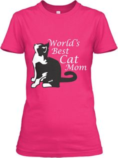 Limited-Edition World's Best Cat Mom Tee | Teespring  Here is another Best cat mom tee in different colors. I love the purple. And there are now hoodies too! Nice!