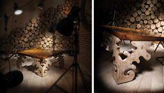 Испанская мебель ручной работы > Дизайнерская мебель > Коллекция Классика > Лола Гламур (Испания) Журнальный столик LG20111