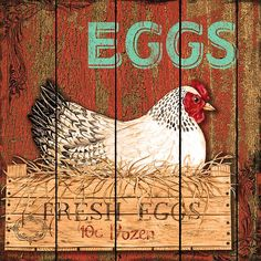 Fresh Eggs (Jean Plout)