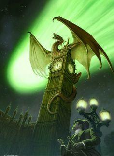Johan Ninforge, dragon Londres