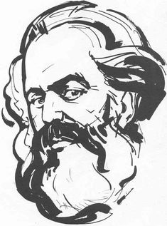 Love and Capital: Karl and Jenny Marx and the Birth of a Revolution Karl Marx, Patch Adams, Graphic Design Posters, Communism, Line Art, Sketches, Ink, Drawings, Illustration