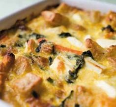 Oven-baked Vegetable Frittata.  This is 11 propoints per serve.  Perfect to make after a roast.  I usually do an extra tray of veges ready for the frittata the following night.