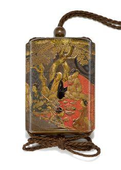 Edo Period, Objet D'art, Japanese Art, Online Art, Metal Working, 19th Century, Tea Caddy, Modern, Beautiful