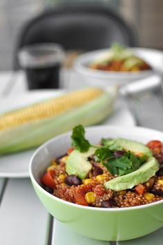 """The first reason why I love chili is that it allows me to pull together a meal in no time, requiring the use of just one pan. This is a particularly valuable detail: more time to spend enjoying my meal instead of washing plates. The second reason is the taste: fresh, spicy, juicy, bold. I also love cooking chili because of the fragrances. The aroma from a slowly simmering stew can be a strong stimuli for my memory. Sometimes just by """"dipping"""" my nose into the steam coming from the pot, I…"""