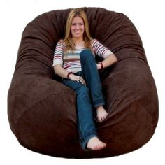 d15ff5e4f6 The Cozy Sac foam chair is the most comfortable place to sit anywhere. They  are. Big Bean Bag ...