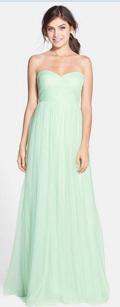 Annabelle Bridesmaid Dress in Spearmint