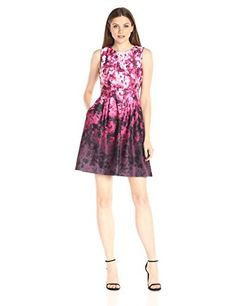 Vince Camuto Women's Fit-and-Flare Dress - http://darrenblogs.com/2016/06/vince-camuto-womens-fit-and-flare-dress/