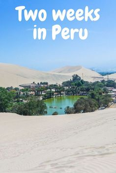 Peru is an amazing country to travel with chance for adventure throughout. There's an abundance of beautiful places, from wanderlust hotspot Machu Picchu to the Colca Canyon near Arequipa. You'll find no shortage of destinations for your bucket list – from cities to Inca ruins. This two-week Peru itinerary will guide you from Lima to Cusco, detailing trips, tips and things to do in each place making sure every day is full of highlights. #Vacation #Wanderlust #Travel