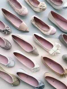 Pretty Ballerinas bridal flats | One Fab Day Pretty Ballerina Shoes, Pretty Ballerinas, Bridal Flats, Wedding Shoes, Wedding Day, Chanel Ballet Flats, Blog, Buen Dia, Bhs Wedding Shoes