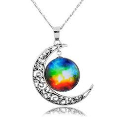 Longil Hollow Out Silver-tone Galaxy Crescent Moon Pendant Necklace for Women (Red) Longil http://www.amazon.com/dp/B00YE4E0NQ/ref=cm_sw_r_pi_dp_SIy3wb19TJYEM