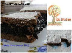 Raw recepty | sladká jídla, dezerty | Raw strava - obchod s živou stravou