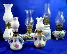 Antique Miniature Oil Lamps