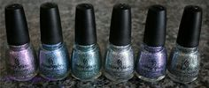 China Glaze - Prismatic Collection