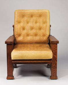 Fauteuil de Frank Lyod Wright. Conçu pour the William E. Martin House, Oak Park, Illinois, vers 1902.