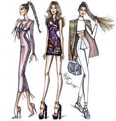 Gigi Hadid PFW looks by Hayden Williams | by Fashion_Luva