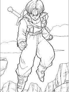 Collection Of Dragon Ball Z Coloring Pages. On this page, we have collected many cool coloring pictures of the Japanese anime series Dragon Ball Z to print and Baby Coloring Pages, Cartoon Coloring Pages, Disney Coloring Pages, Coloring Pages To Print, Coloring Books, Colouring, Dragon Ball Image, Dragon Ball Gt, Goku Pics