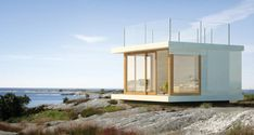 house with beautiful view of water
