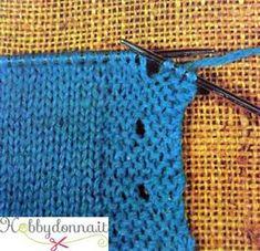 Come eseguire le asole (occhielli) in un capo in maglia - Hobbydonna. bec173b4911b