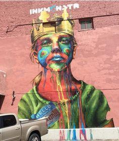 67 Ideas Urban Street Art Design Artists For 2019 Traditional Art, Public Art, Amazing Art, Art, Graffiti Art, Land Art, Outdoor Art, Street Art